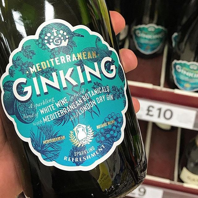 Why not enjoy an ice cold glass of Ginking Mediterranean this weekend? Pick your bottle up now from @tescofood. 🥂📷 @artisdrinks | #ginking #tesco