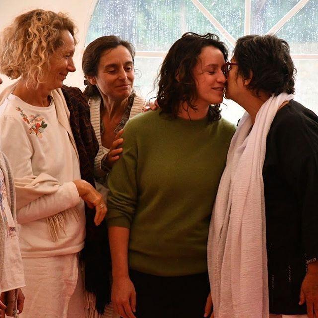 Je voudrais vous parler des femmes que j'aime  #biodanse #biodanza #tunnel #ebb #toucy #larueketanou
