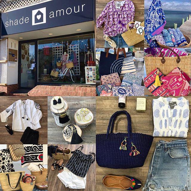 Summer Favorites. #beachlife #beachwear #preppyboho #boho #handmade #shopsmall #shoplocal #803 #westbeechstreet #westend #longbeachnynotcalifornia #shareyourshade