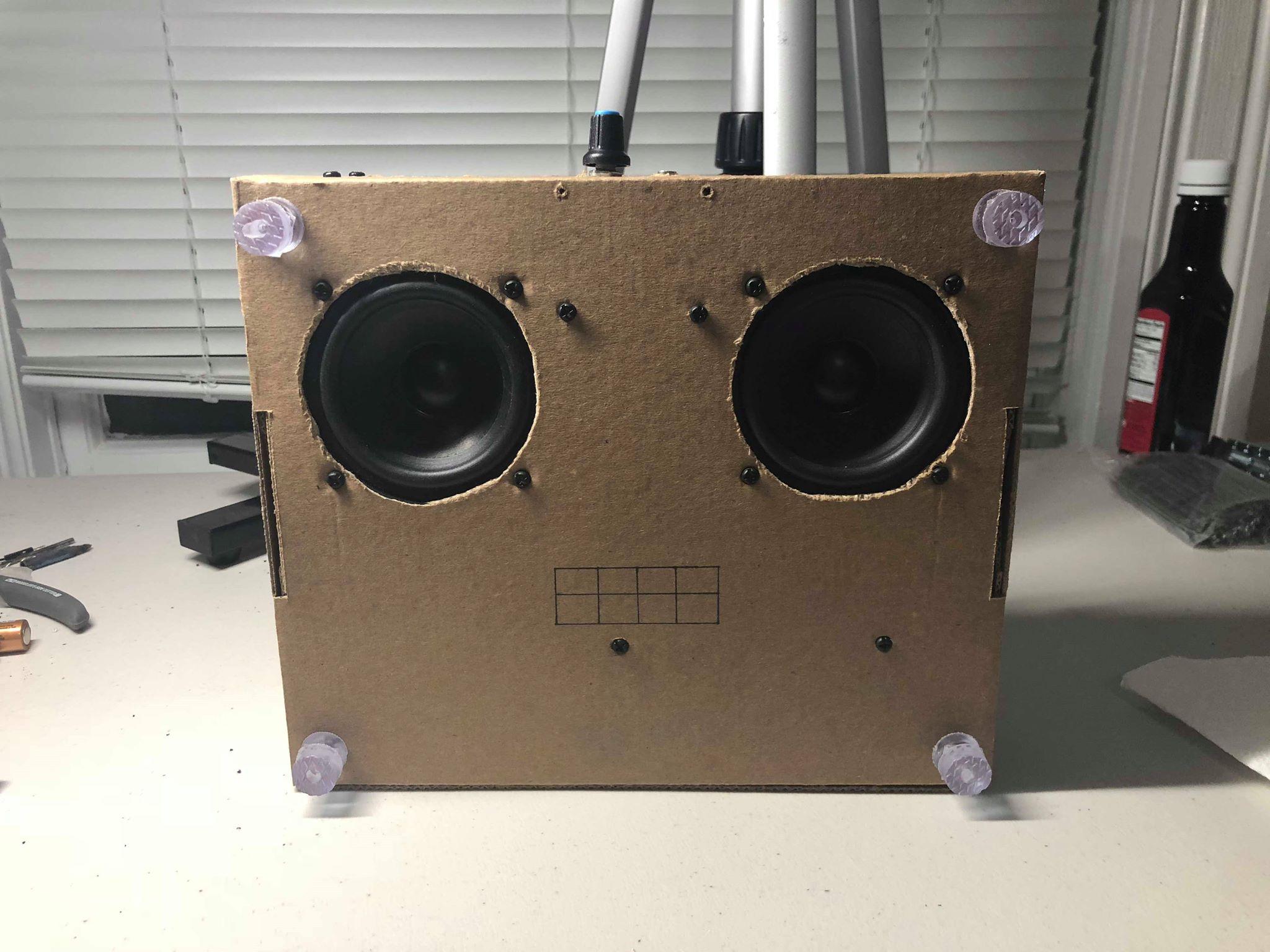 Dual Speakers for Maximum Dopeness