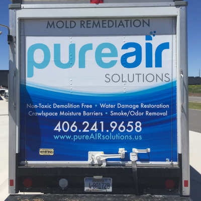 pure air solutions truck
