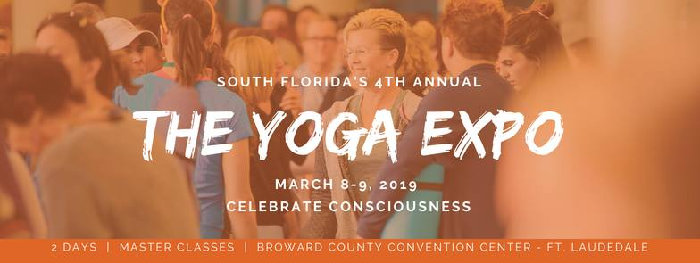 Check out our Founder, Terri Cooper Space, at the Fort Lauderdale Yoga Expo - March 8+9, 2019.