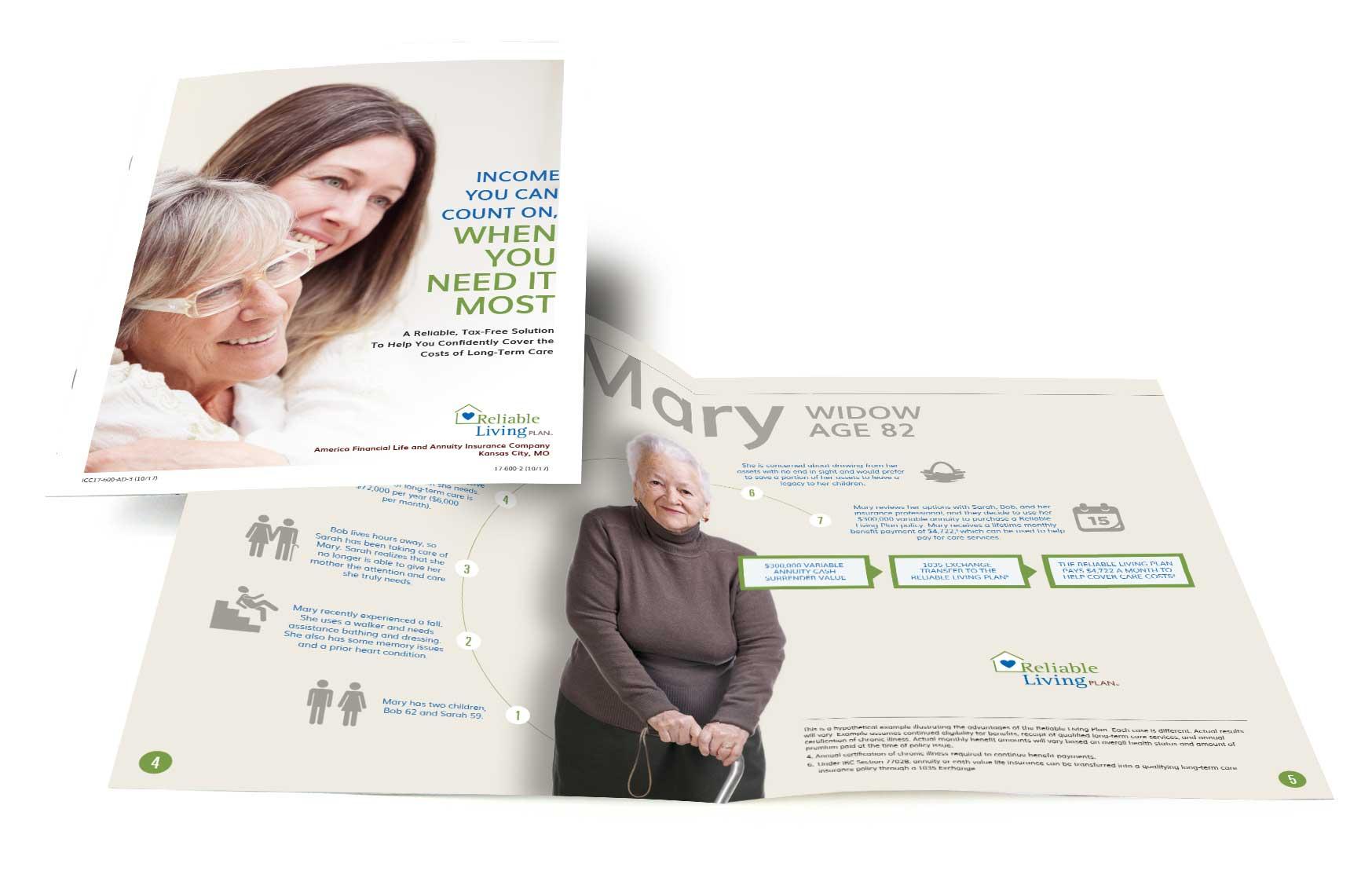 Reliable Living Plan Brochure