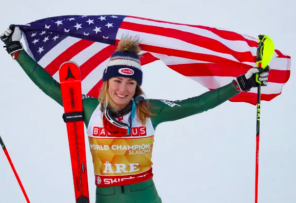 Mikaela Shiffrin . A true SUPERFRAU. She grew up tearing up the mountain in some of our most beloved places: Vermont and Austria. Hey, Mikaela, you'd look killer in some Superfrau gear… just sayin'.