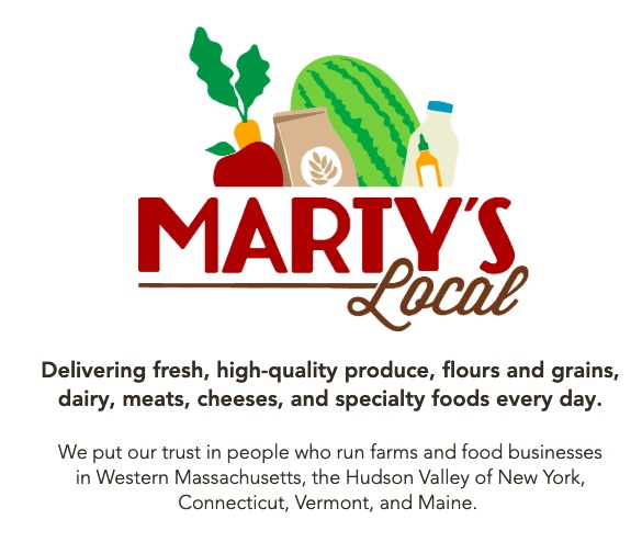 Nick Martinelli (AKA Melissa's brother!) is connecting local farmers with opportunities to sell their products in markets they may not otherwise reach.  Marty's  effort to change our food system and focus on providing local products throughout the region is a real inspiration for Superfrau.