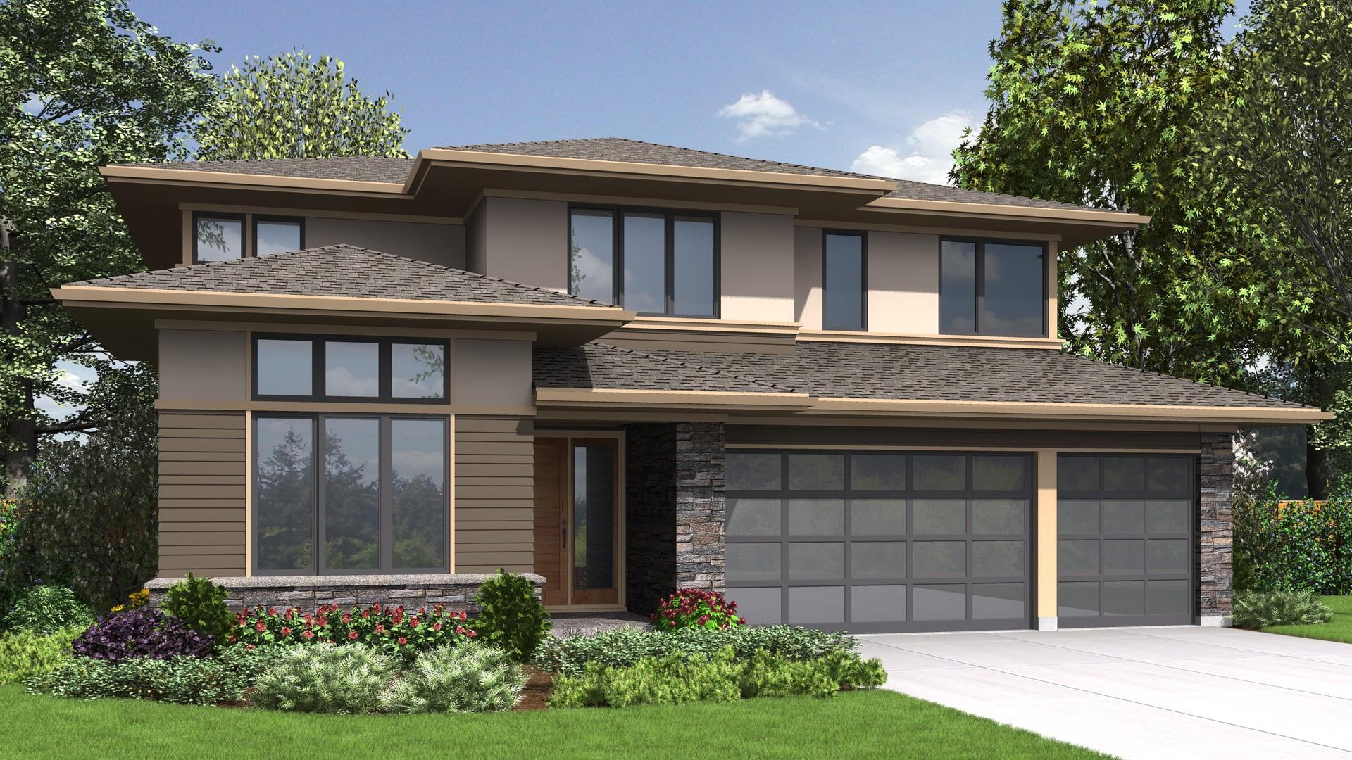 Front exterior rendering