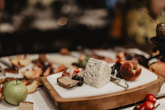 Say cheese! . . At every small format dinner we do we have a cheese board to go with the flavors of the dinner.