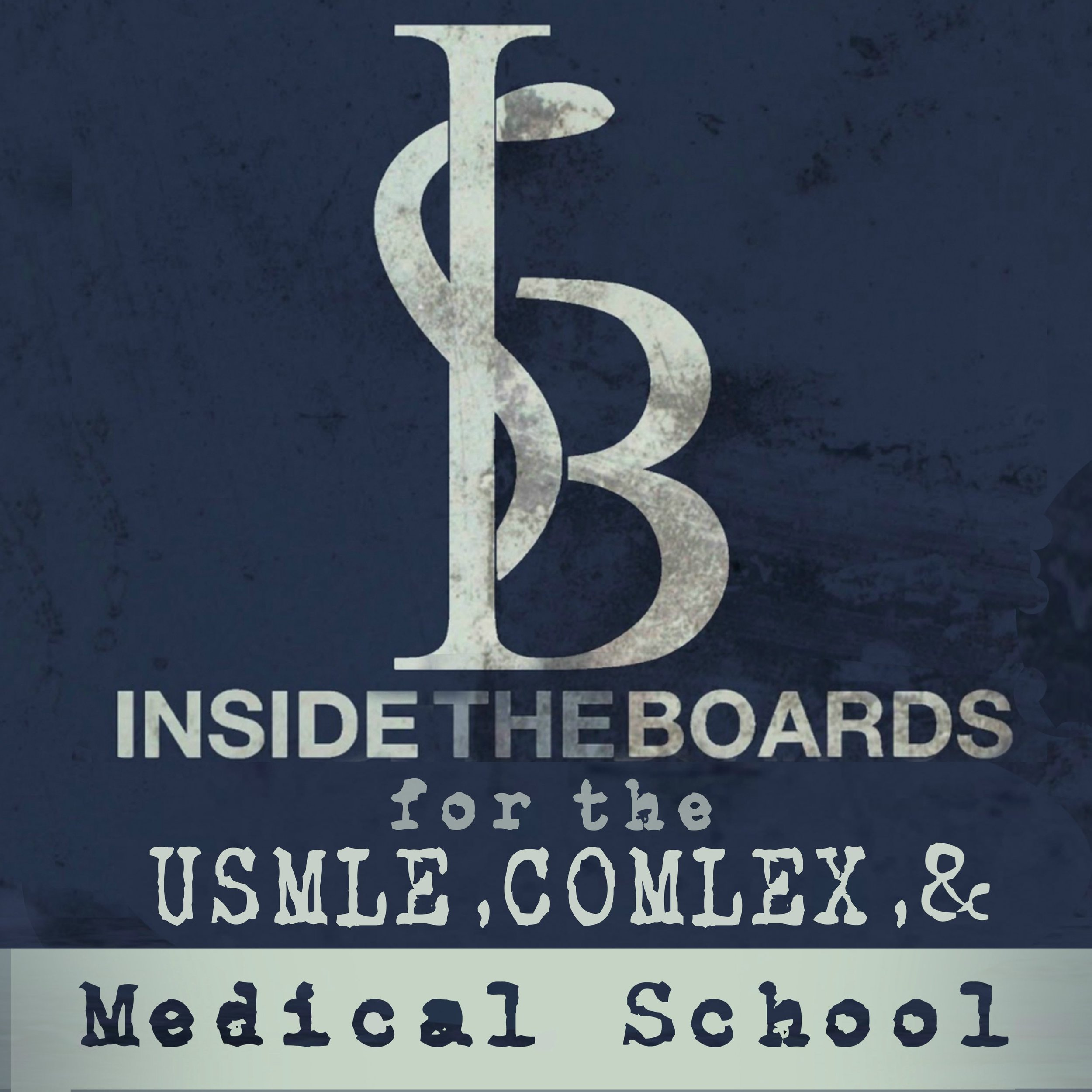 InsideTheBoards Podcast - Dr. O'Connell's first episode of many with the ITB team. He discusses his journey into test-preparation authorship, reveals which subject he struggled with in medical school, and reviewst how he'd work through a USMLE Step 2 test question, and more.