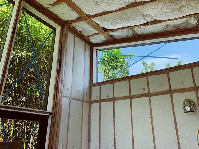 Walls have pillows 🙌☁️  Shed ADU -- #windows #minimalist #carpentry #glazing #customwindows #portland #modern #adu #design #build #tinyhouse #livelarge #cedar #pacificnorthwest #architecture #contemporaryarchitecture #architecturephotography #constructionphotography #woodframing #designbuild #custombuilder #minimalism #simplicity #pdx #pdxnow #pdxdesign #portlandarchitecture #dadu #neverstopimproving #craftsmanship
