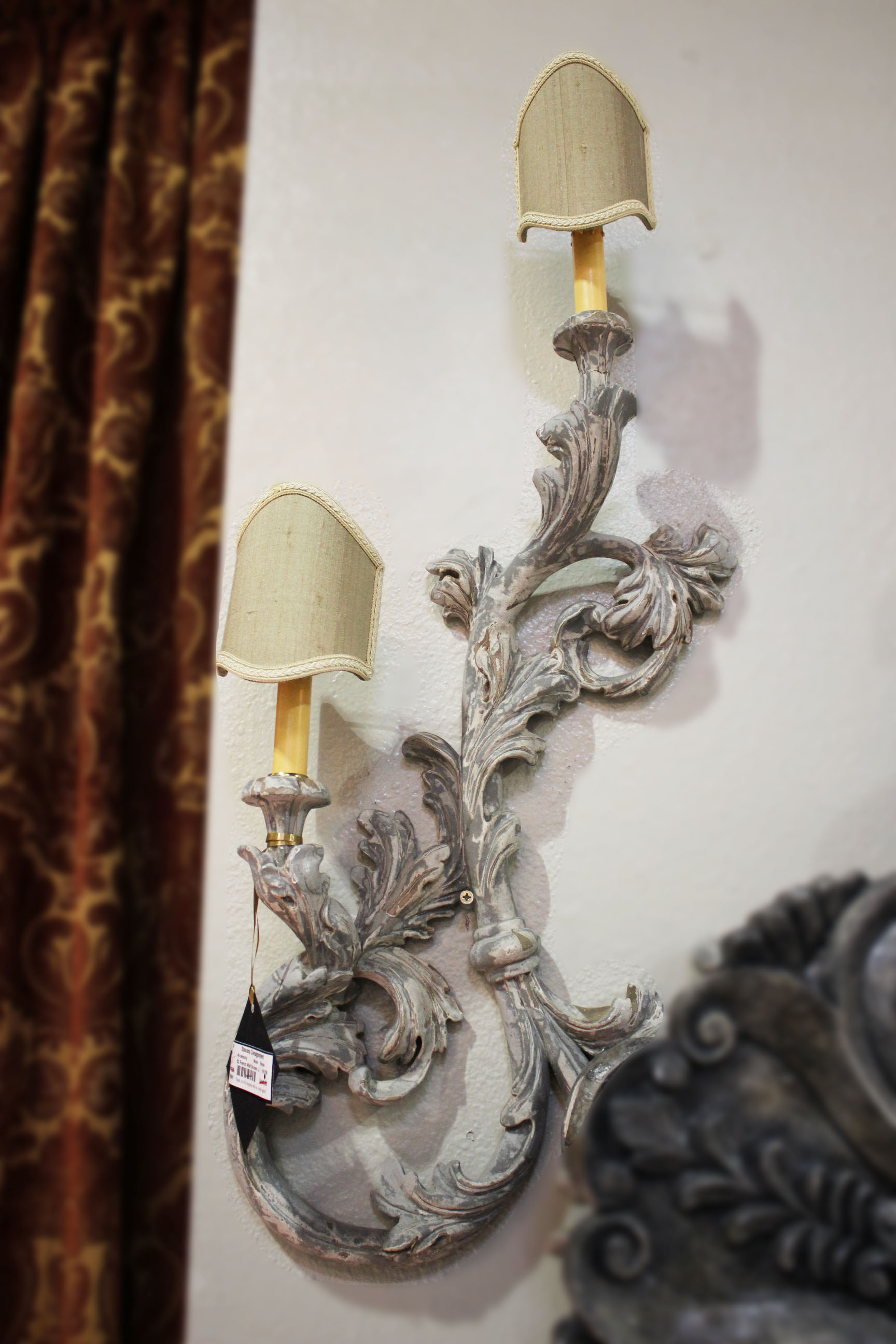 Set of 2 French Wall Sconces