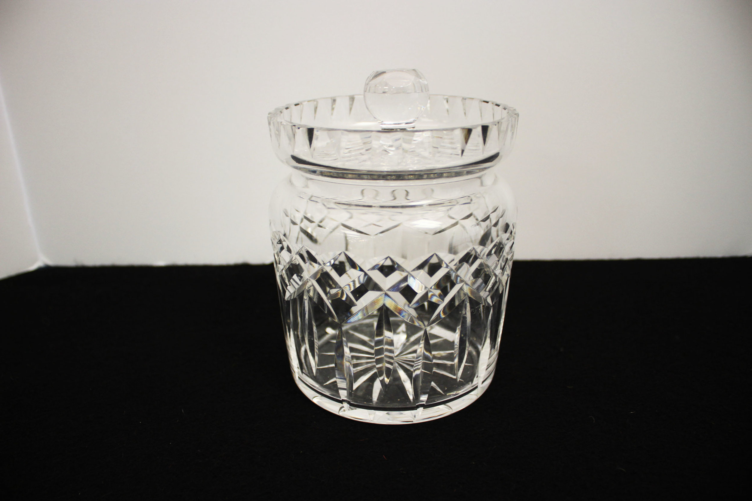 Waterford Biscuit Jar with Lid