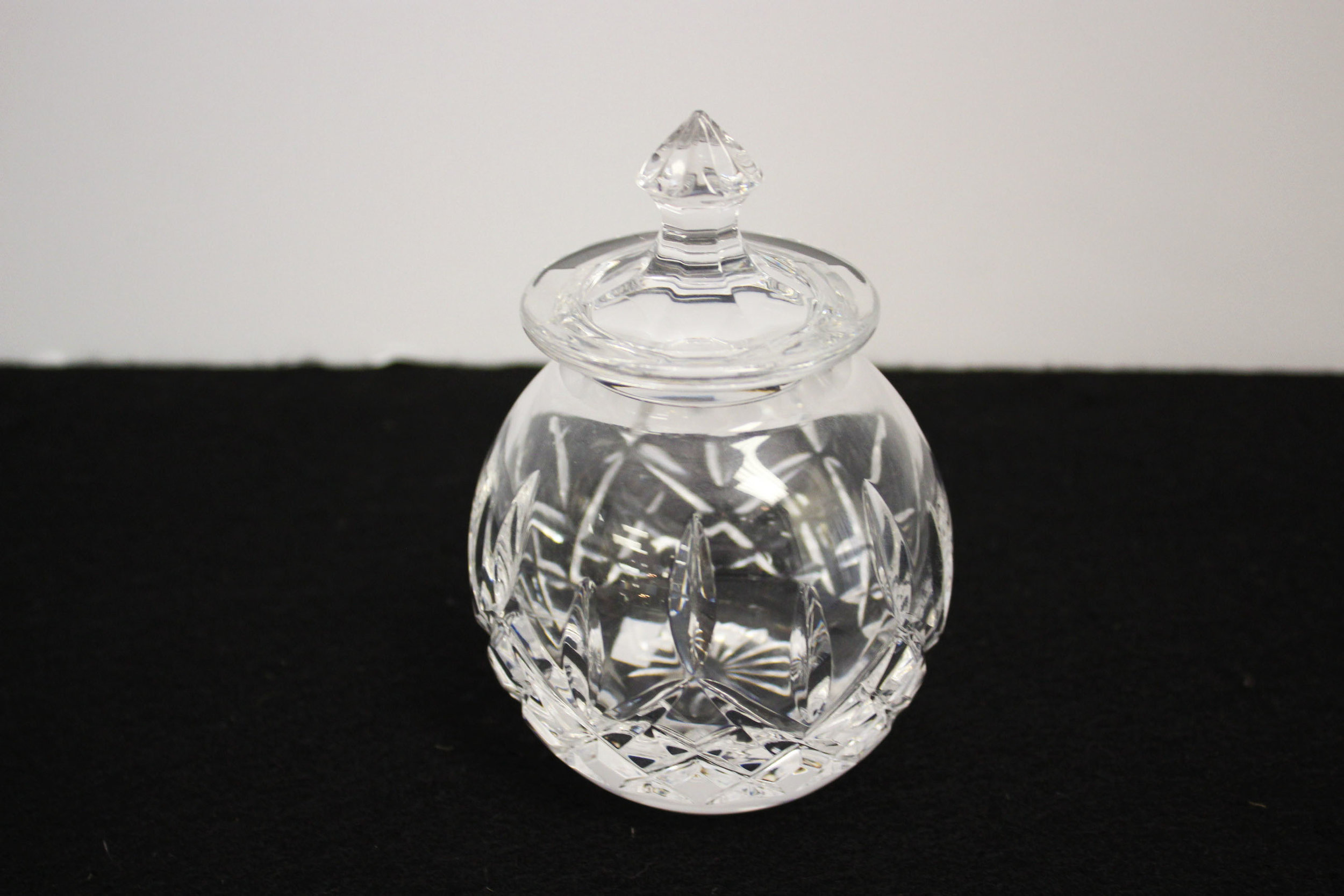 Waterford Small Jar with Lid