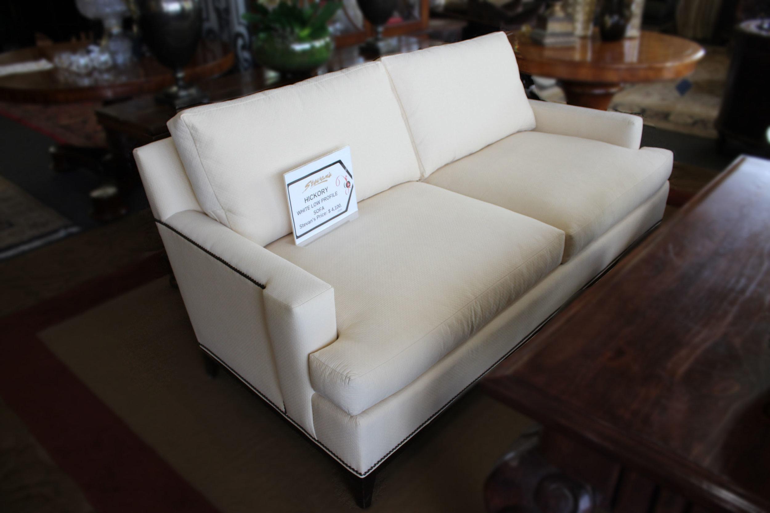 Hickory White Low Profile Sofa