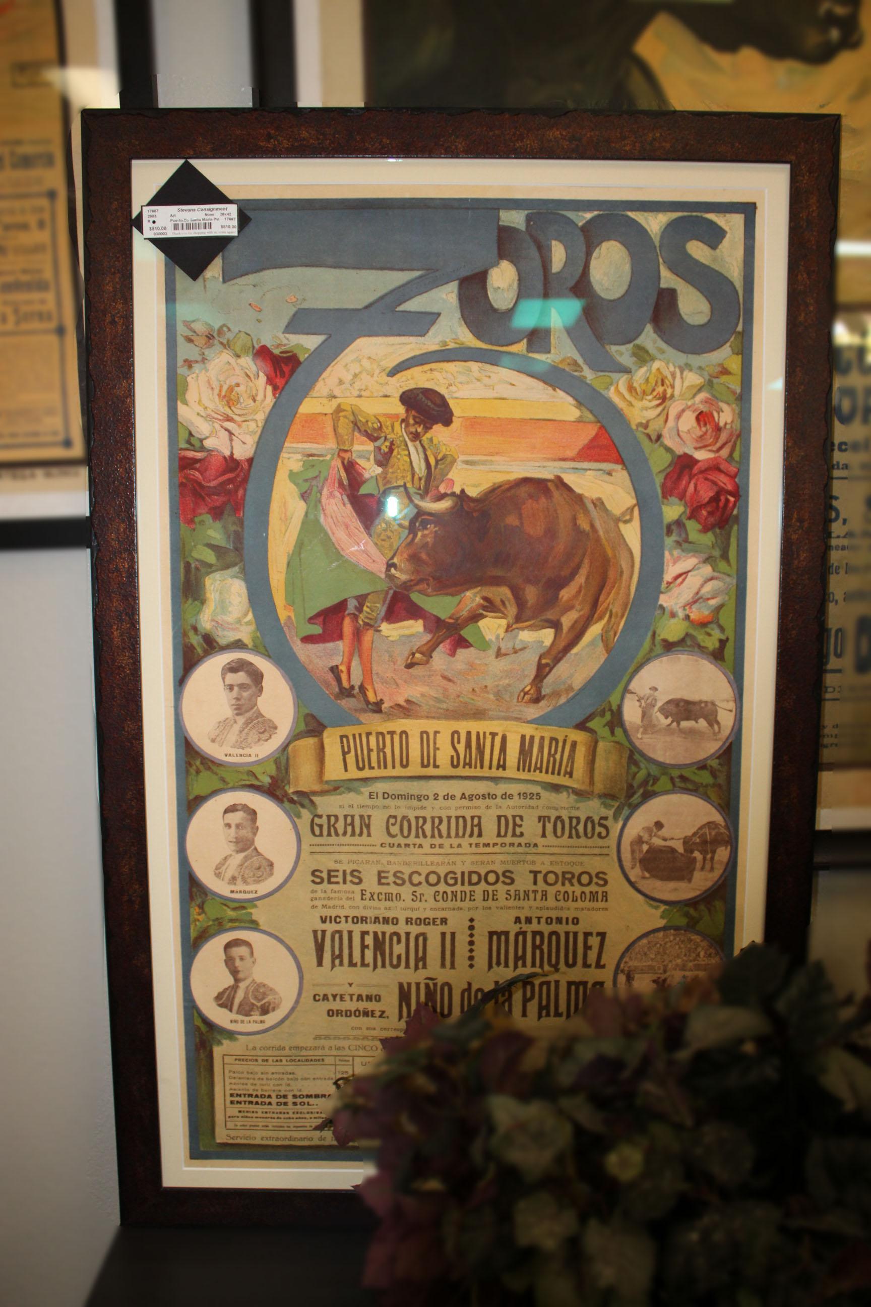 Puerto De Santa Maria Poster
