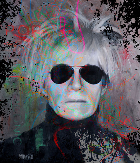American Pop Icon---Warhol by Jay Johansen