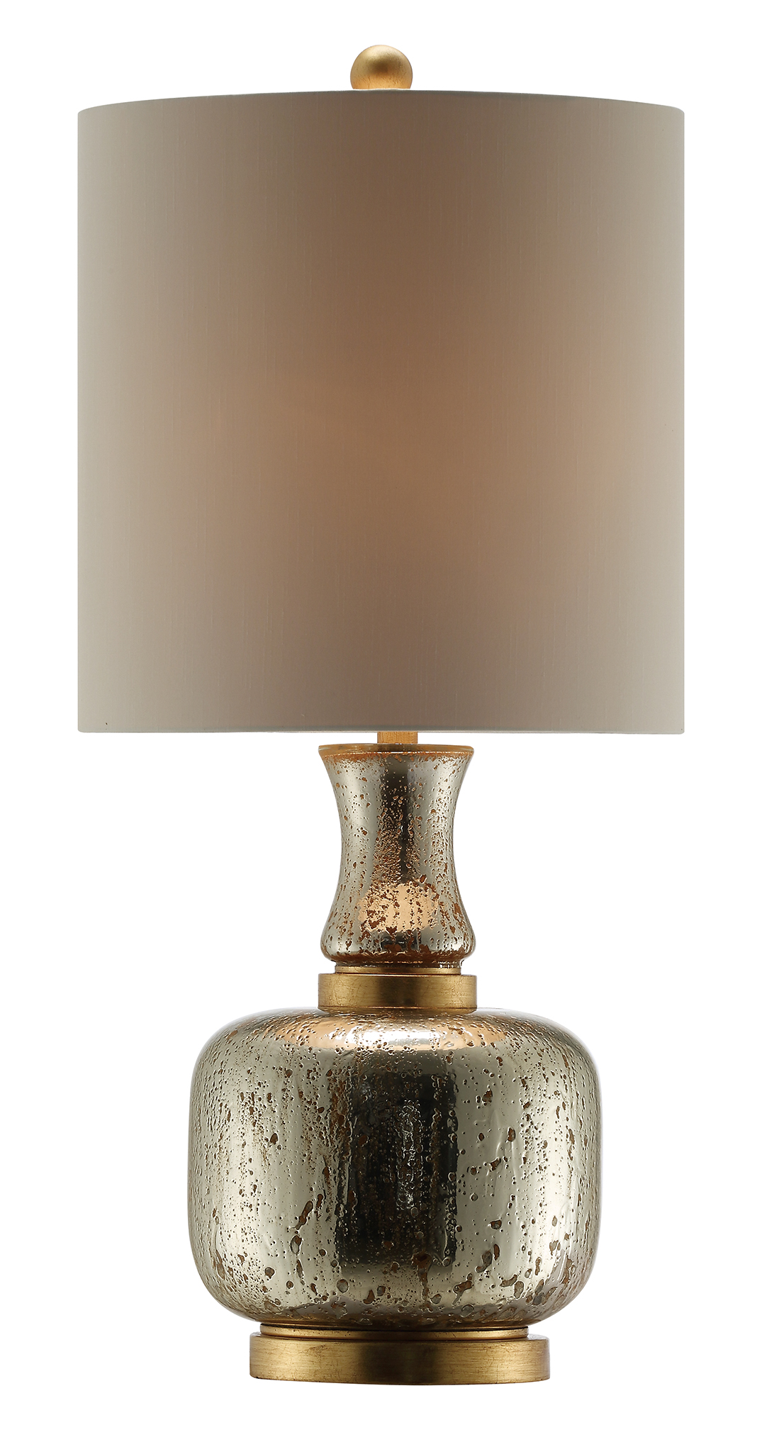 NEW Pair of Gold Silver Mercury Lamps