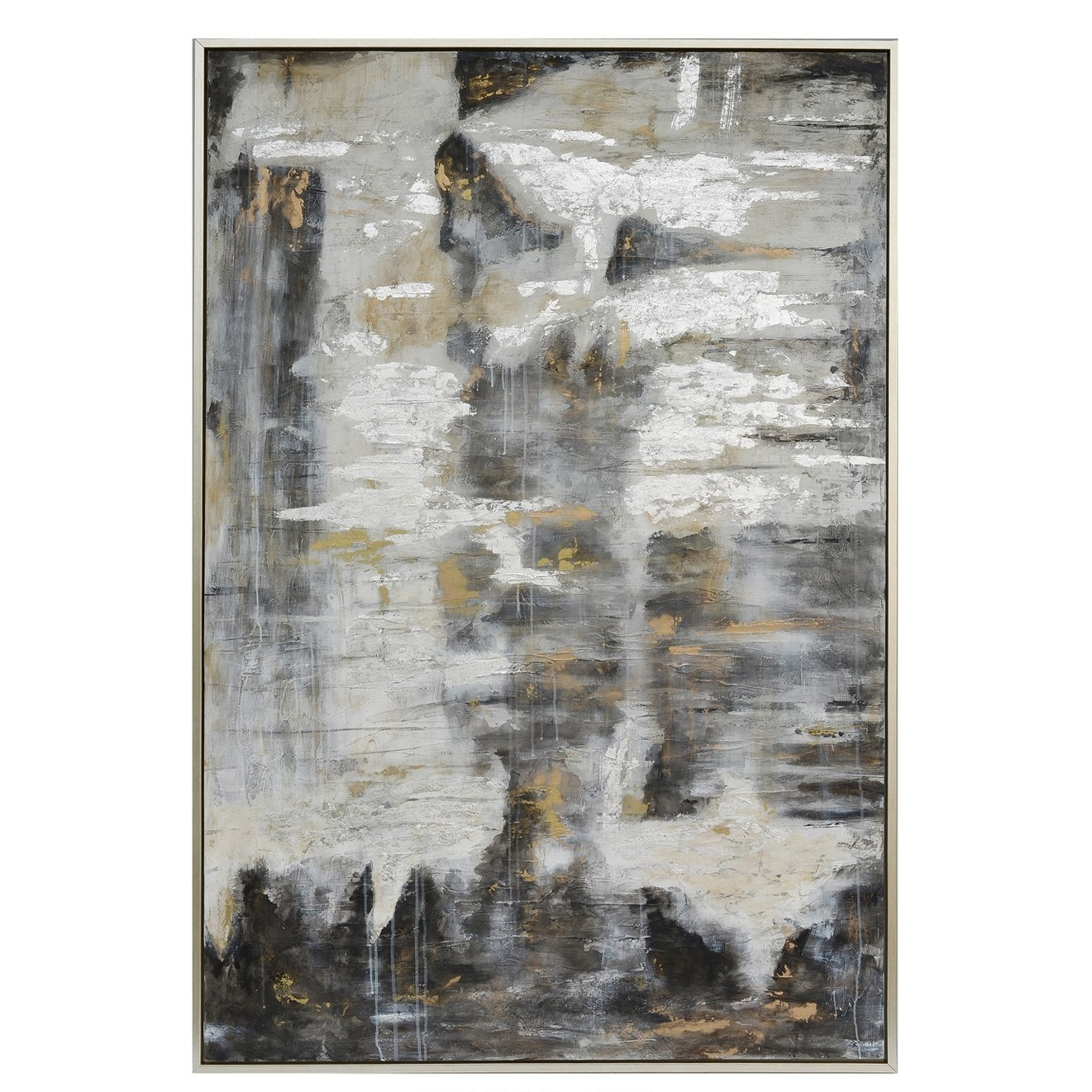 NEW Bode Abstract with Silver Outer Frame