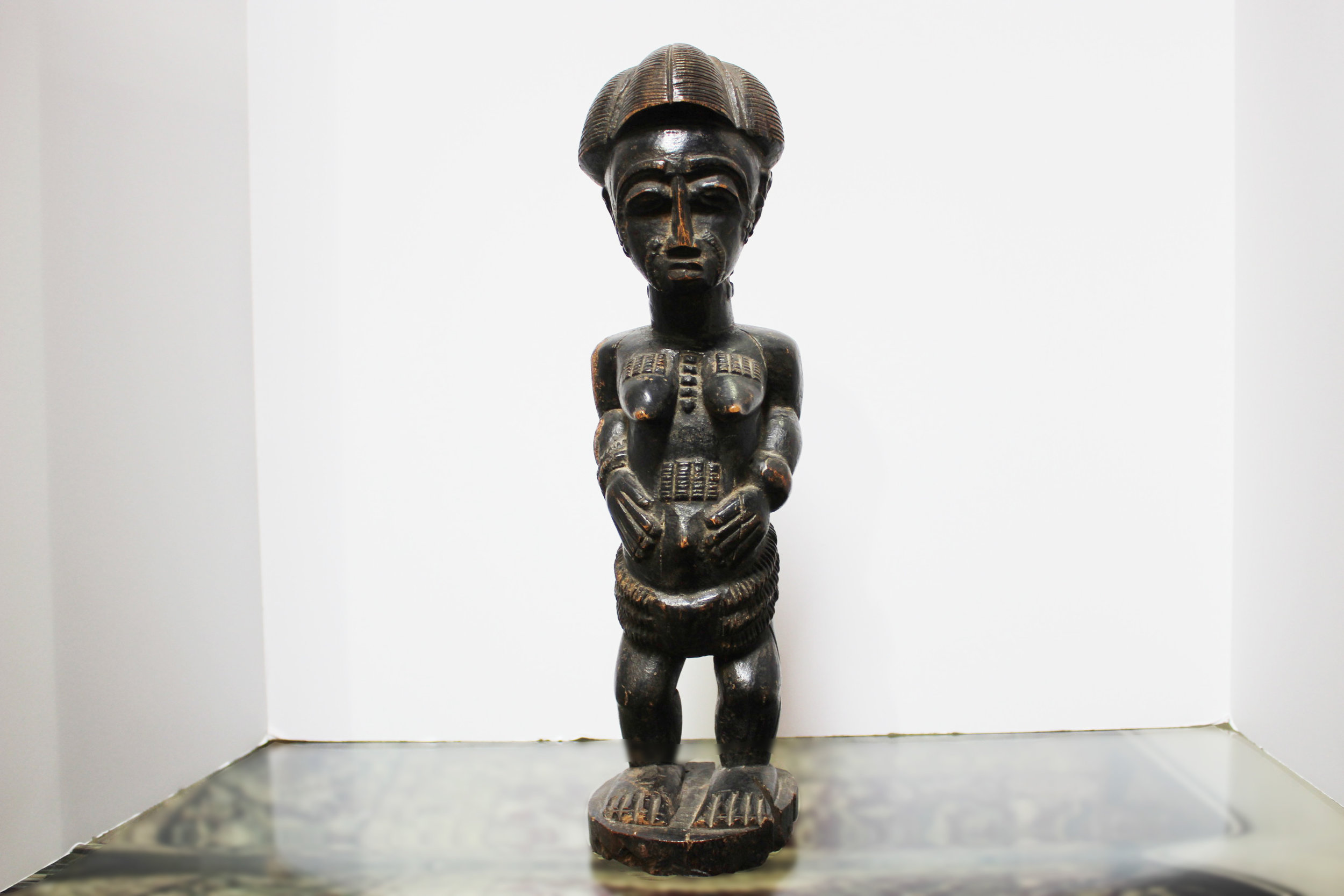 Spirit Spouse by Baule Tribe Member from Ivory Coast