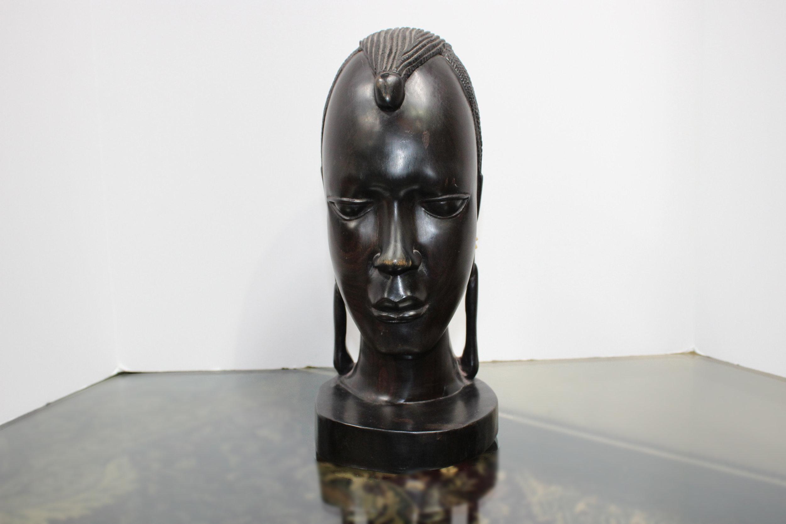 Tanzanian Ebony Bust