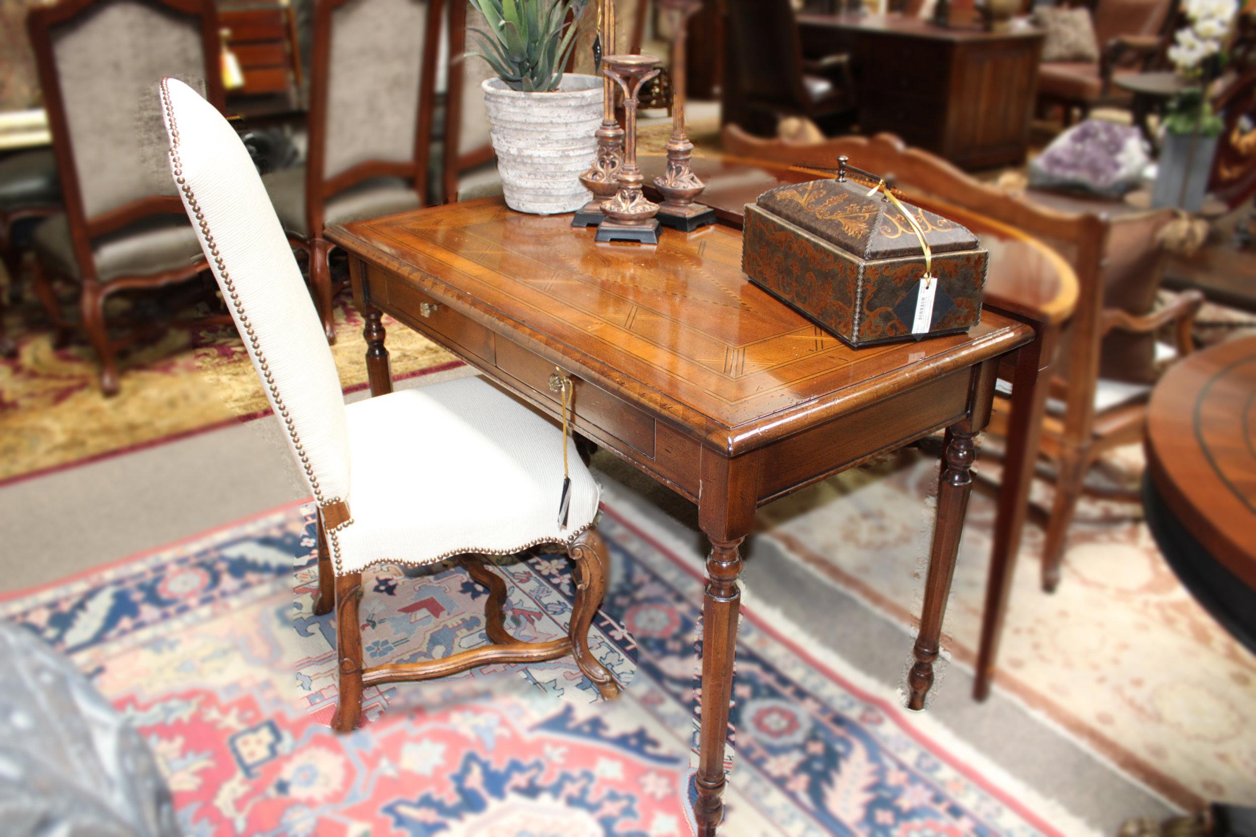 Francesco Molon Inlay Wood Writing Desk
