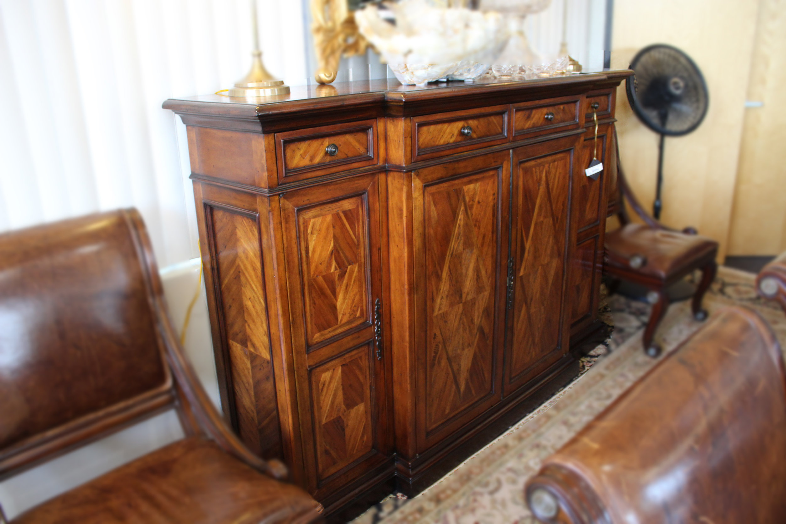 Theodore Alexander Parquetry Buffet
