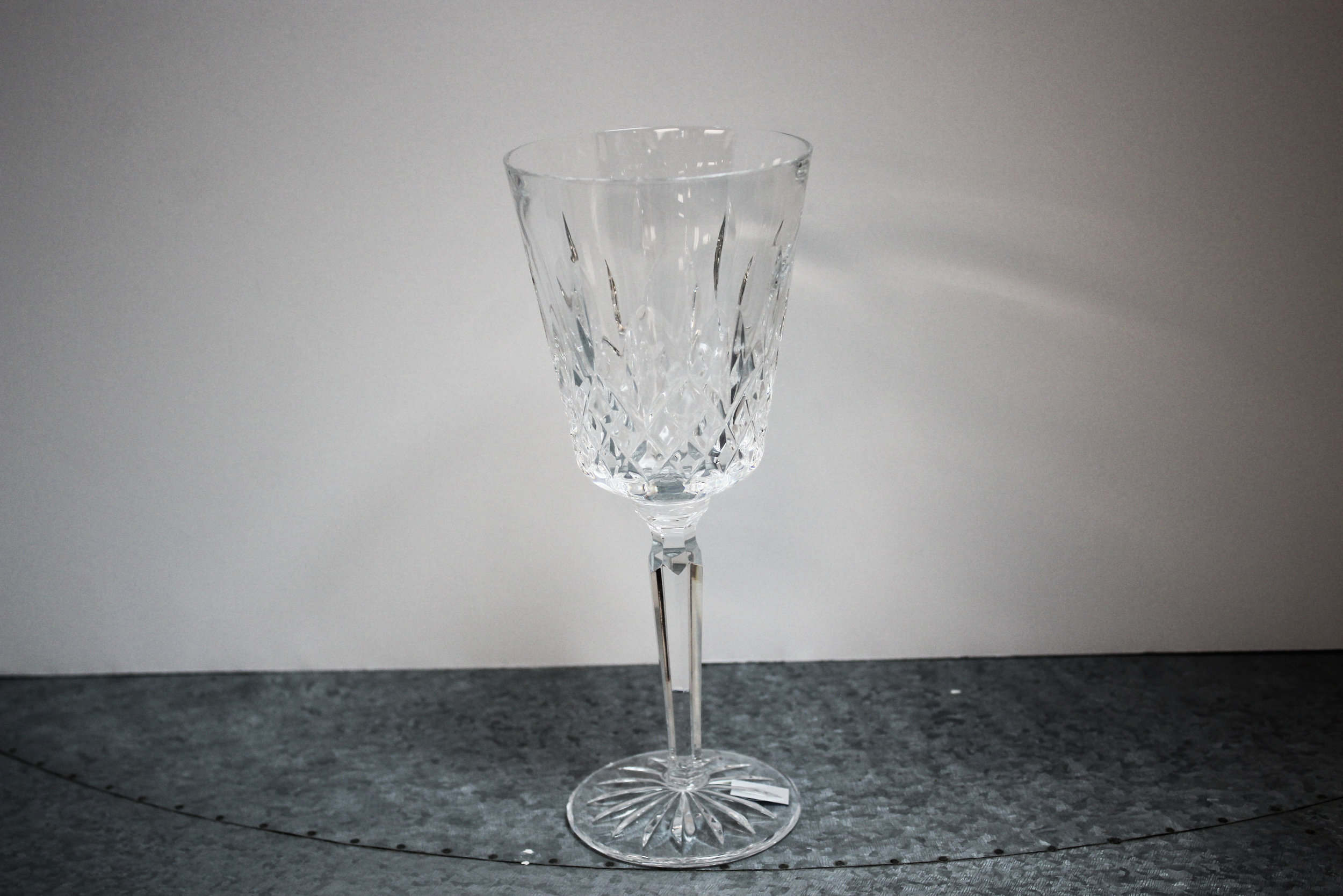 Set of 8 Lismore Waterford Goblets