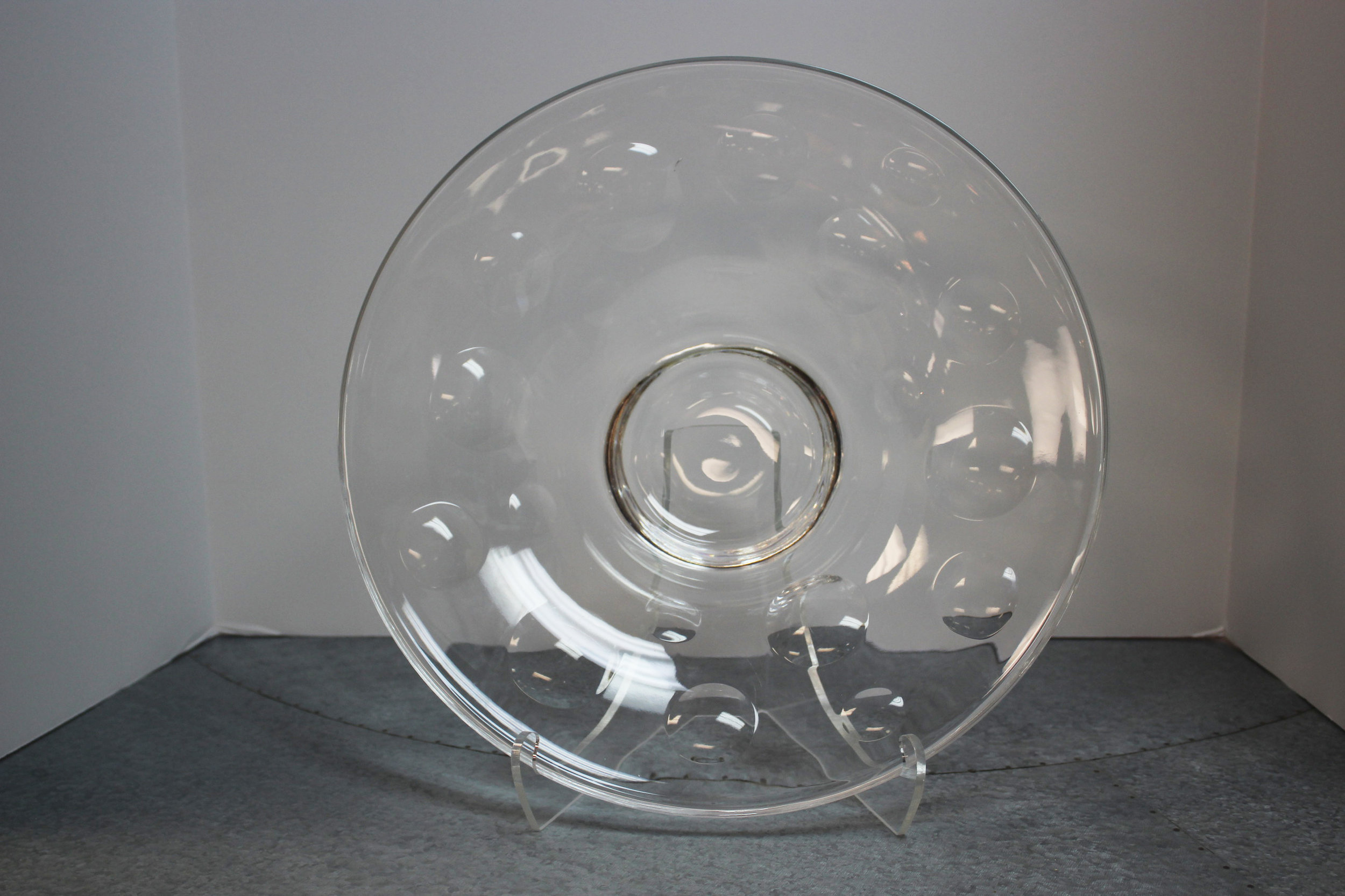 Tiffany Large Crystal Plate