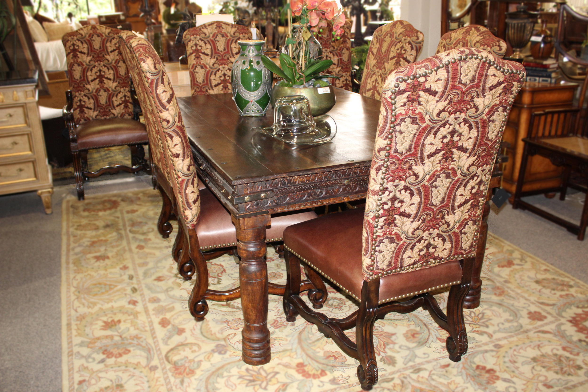 Rustic Import Dining Table