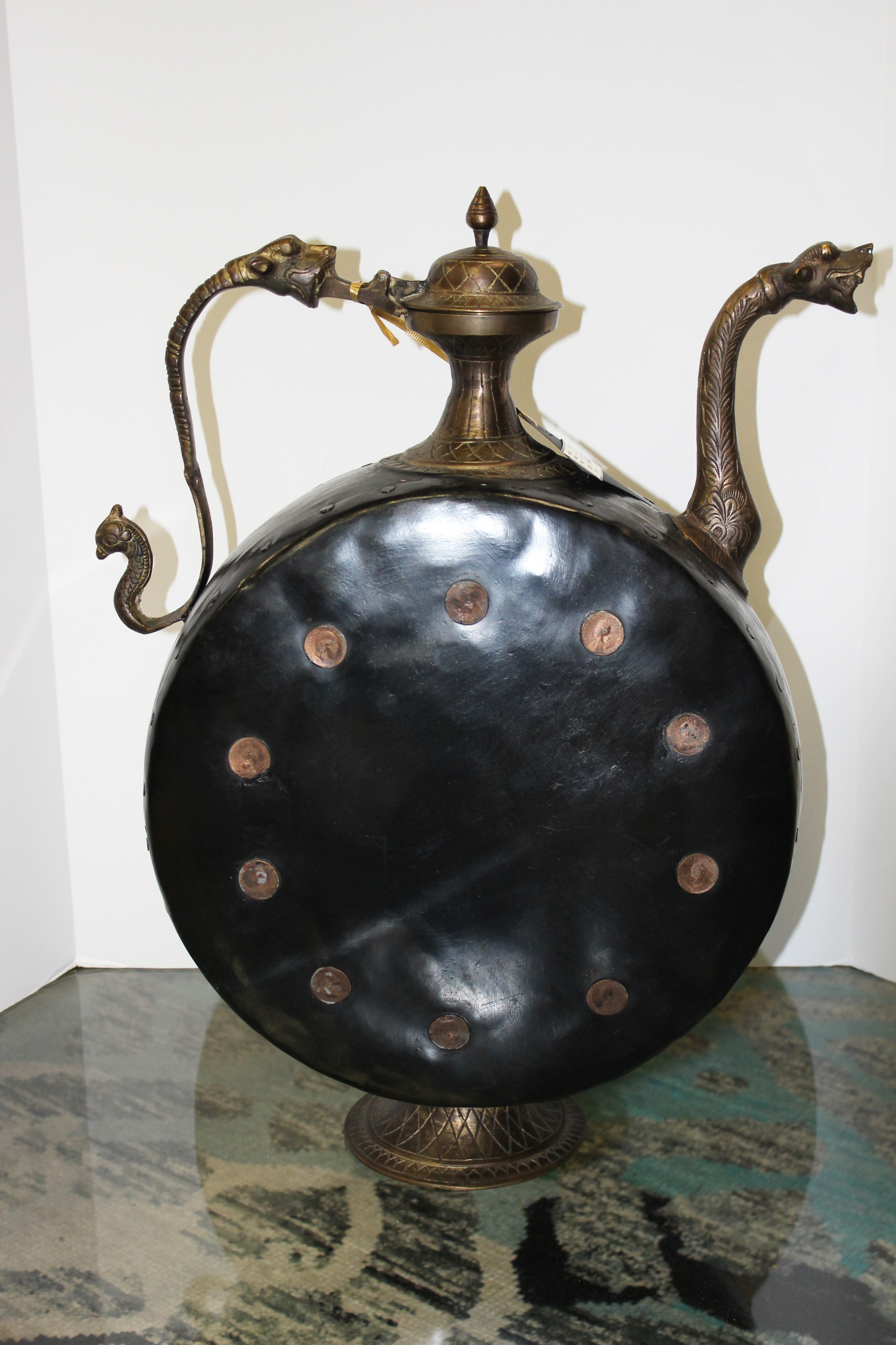 Metal Oversized Teapot
