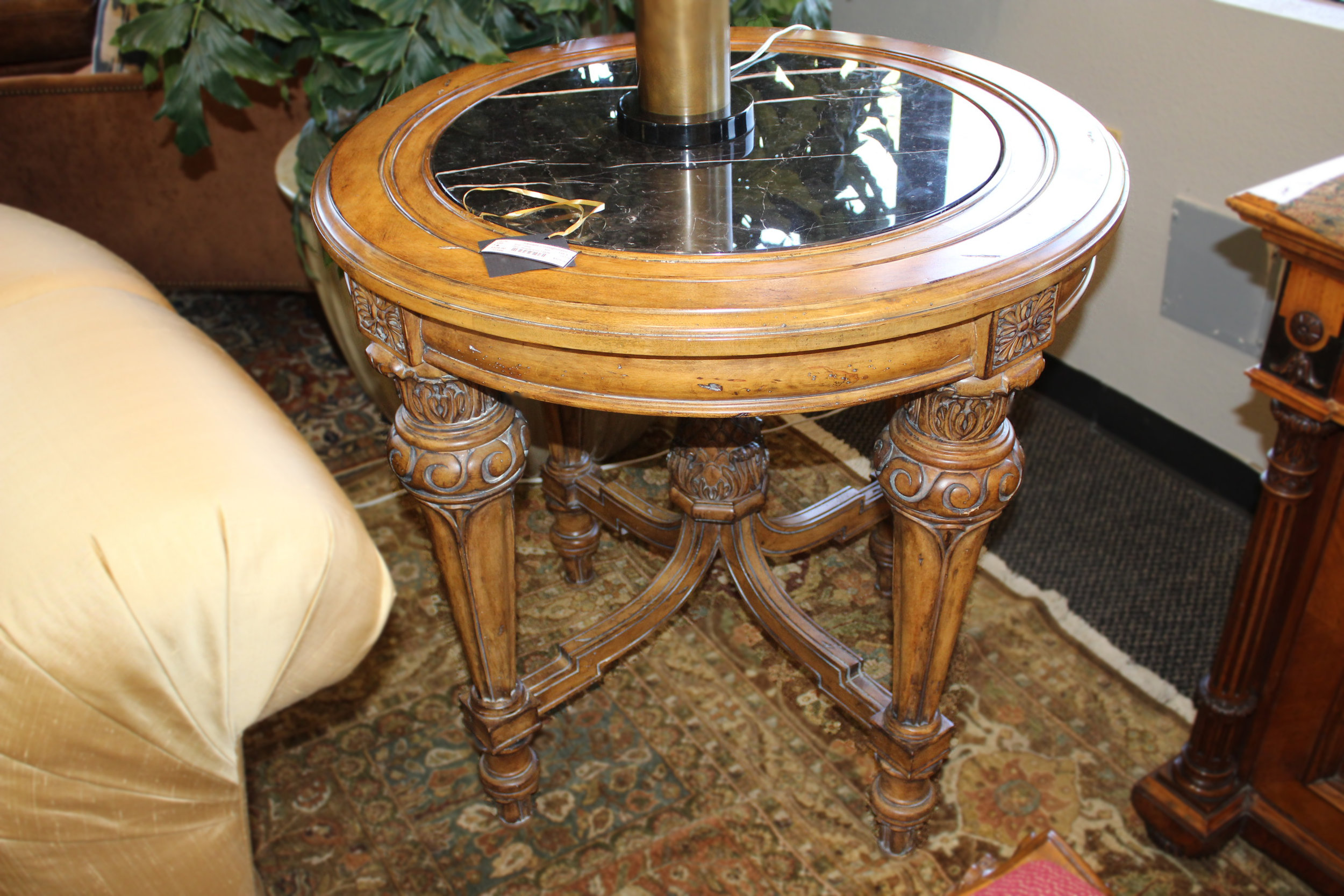 Maitland Smith Over Height End Table