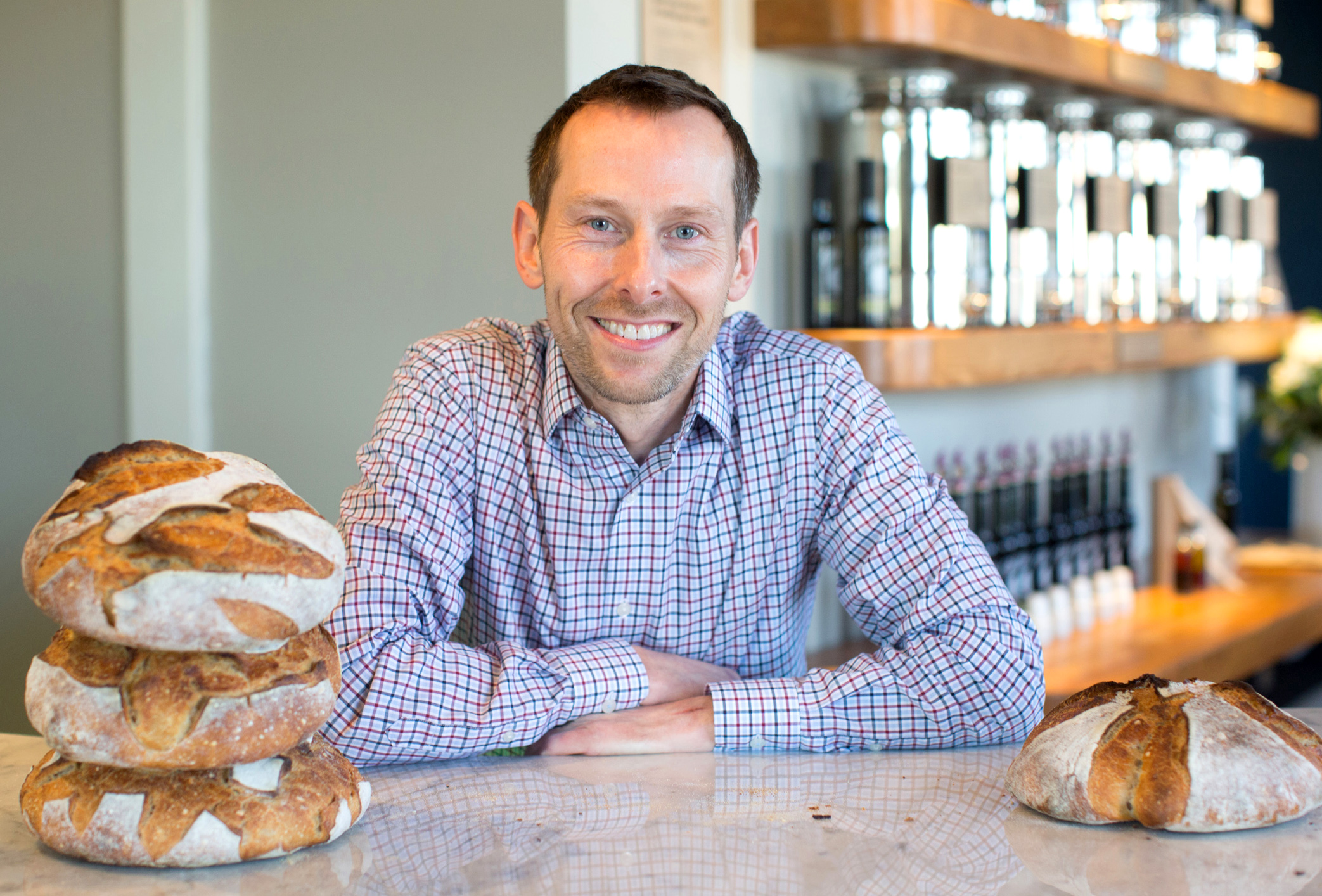 Glorious Artisan Bakery's Leo Walters.. Sign up for the newsletter and get notified about our grand opening!