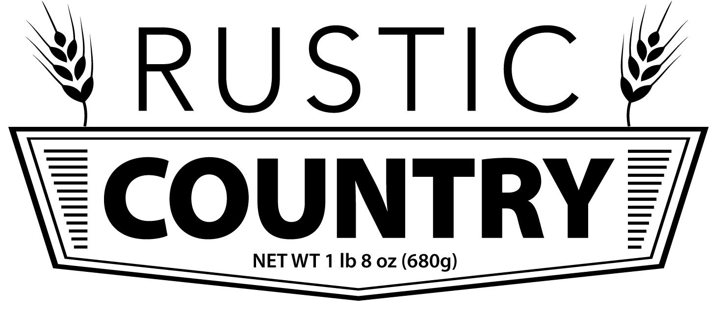 Rustic Country - Flour, Water, Wild Yeast Culture, Sea Salt
