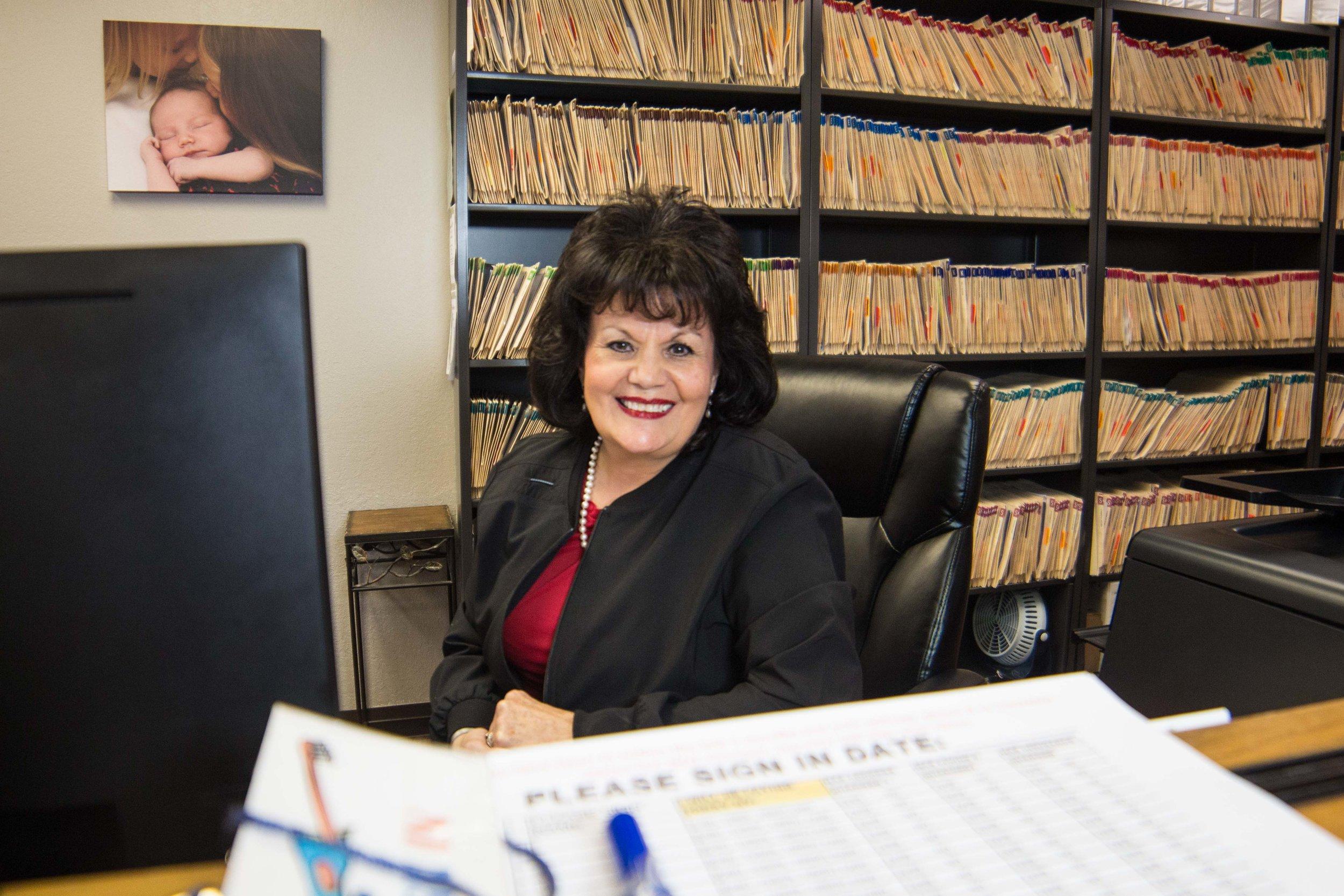 Debi Airington, Check-In Desk