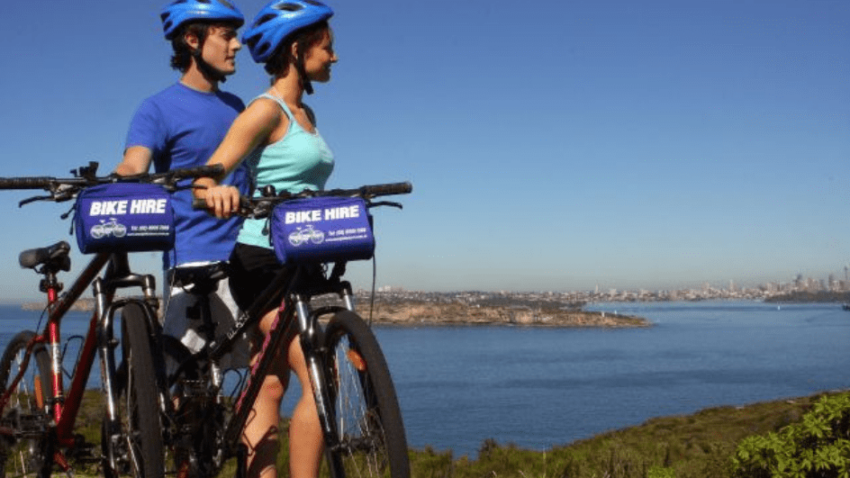 Bikes and whale spotting - Hosted by Manly Bike Tours