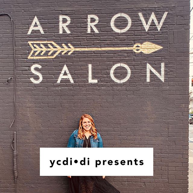 """Search for """"ycdidi"""" in your favorite podcast app: This week we're joined by Elyse Farnsworth (@elysefarnshair)for a conversation about self-worth, the value of family, and the artistry of hair styling. Elyse is owner and hair stylist at Arrow Salon (@arrowsalonprov)- a team of highly educated, passionate stylists who love making you feel and look amazing. #ycdidi"""