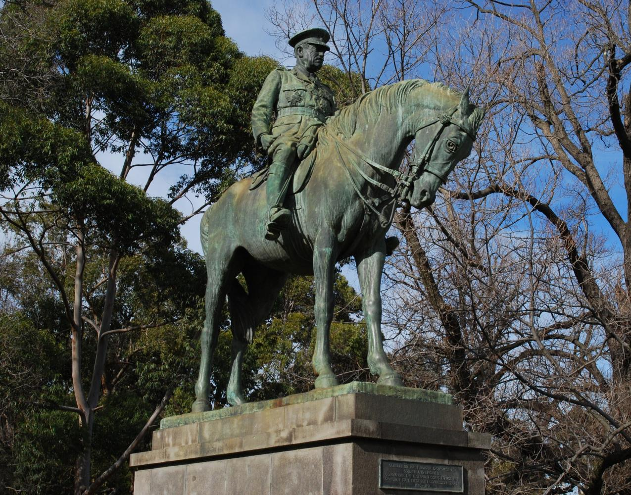 Monument to Sir General John Monash