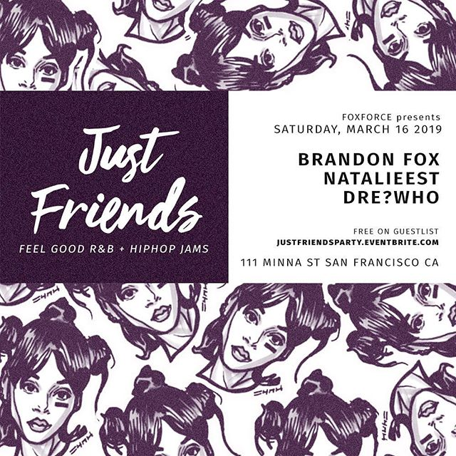 NEW PARTY ALERT 🚨 #JustFriends in SF on March 16th at @111minnagallery Save the date. . Here we have a party dedicated to everyone tired of the bottle service clubs with nobody dancing on the floor. Let's change the narrative for Bay Area parties.