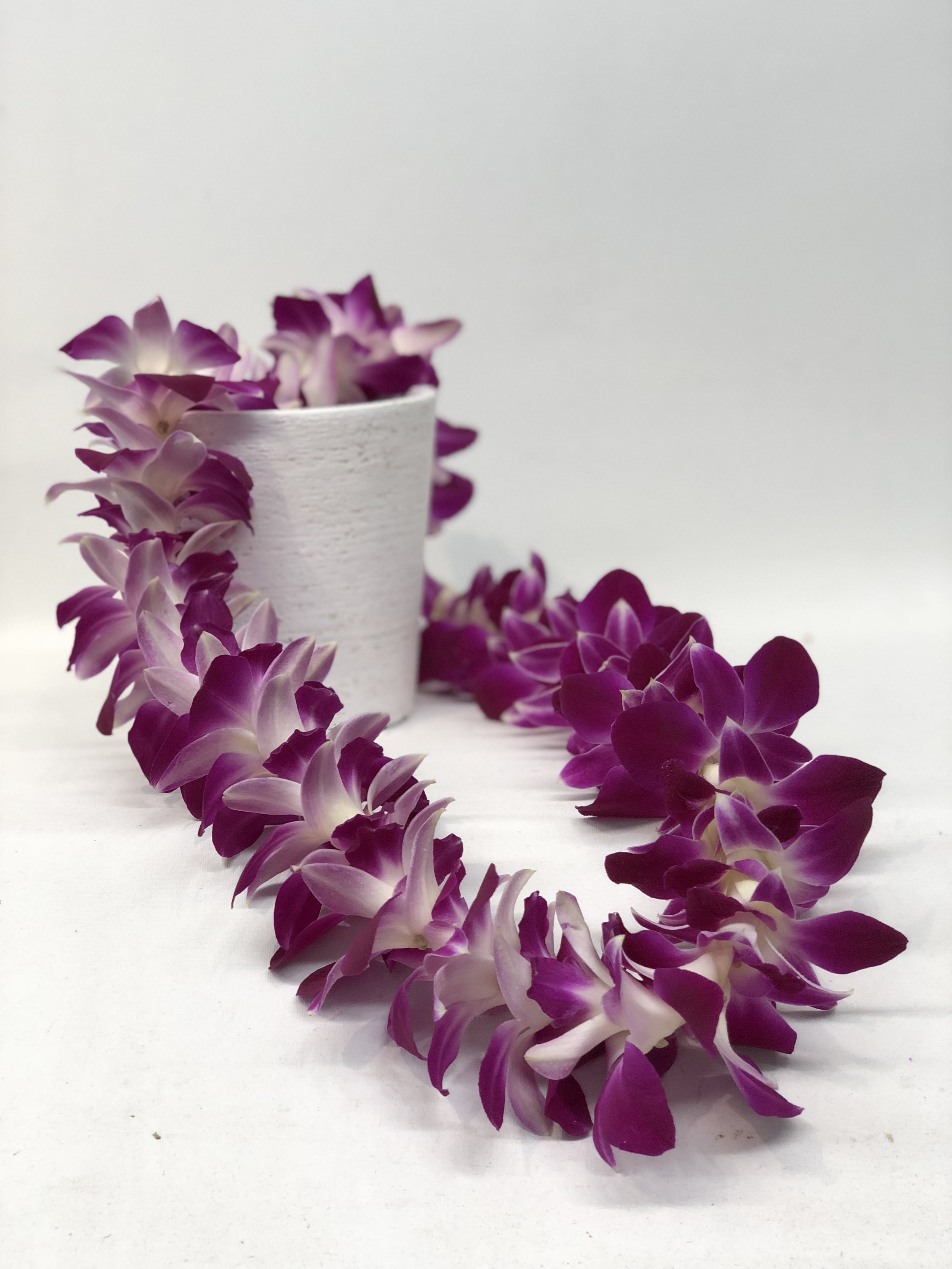 Orchid Lei -