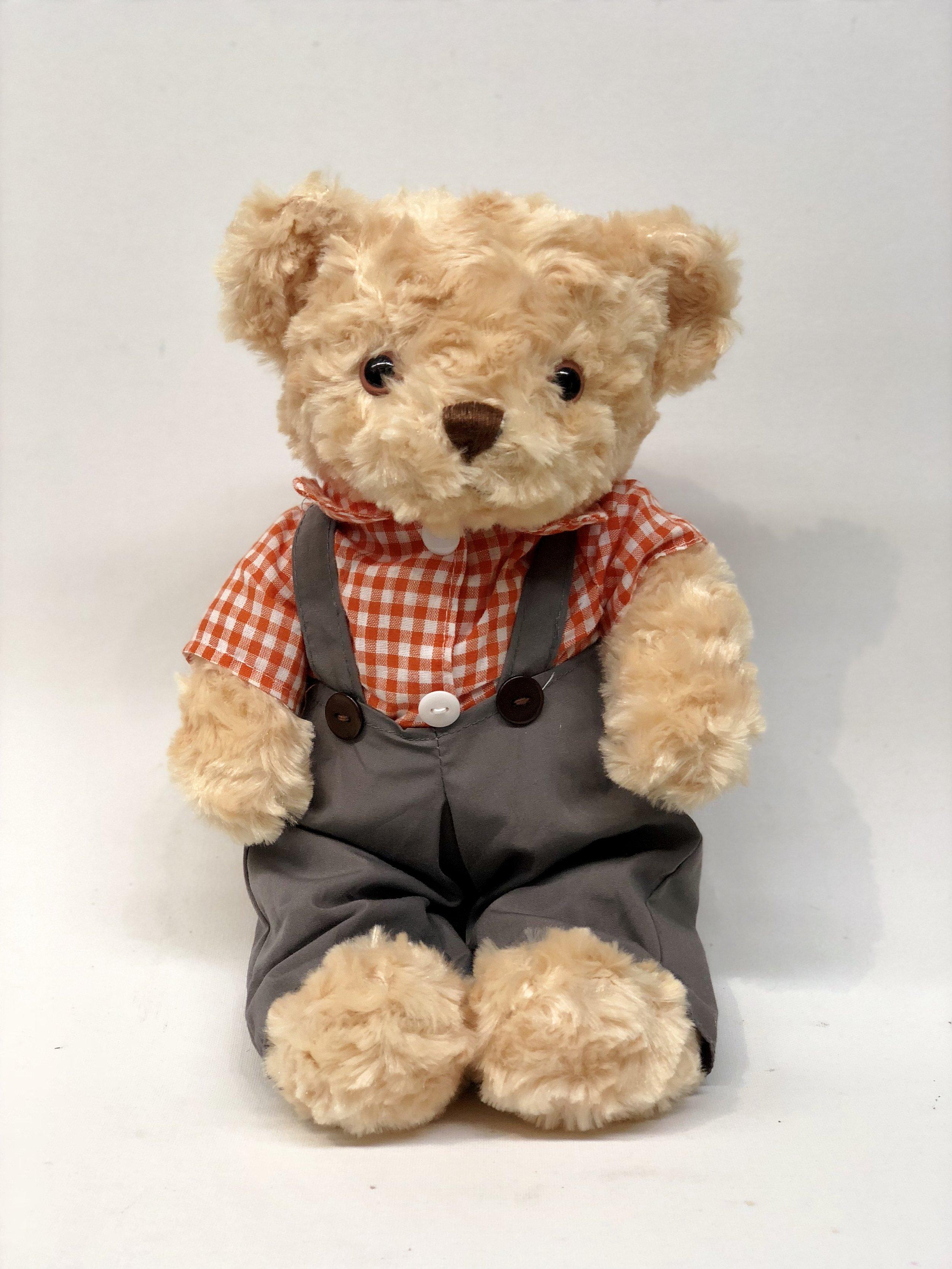 Overalls Teddy Bear -