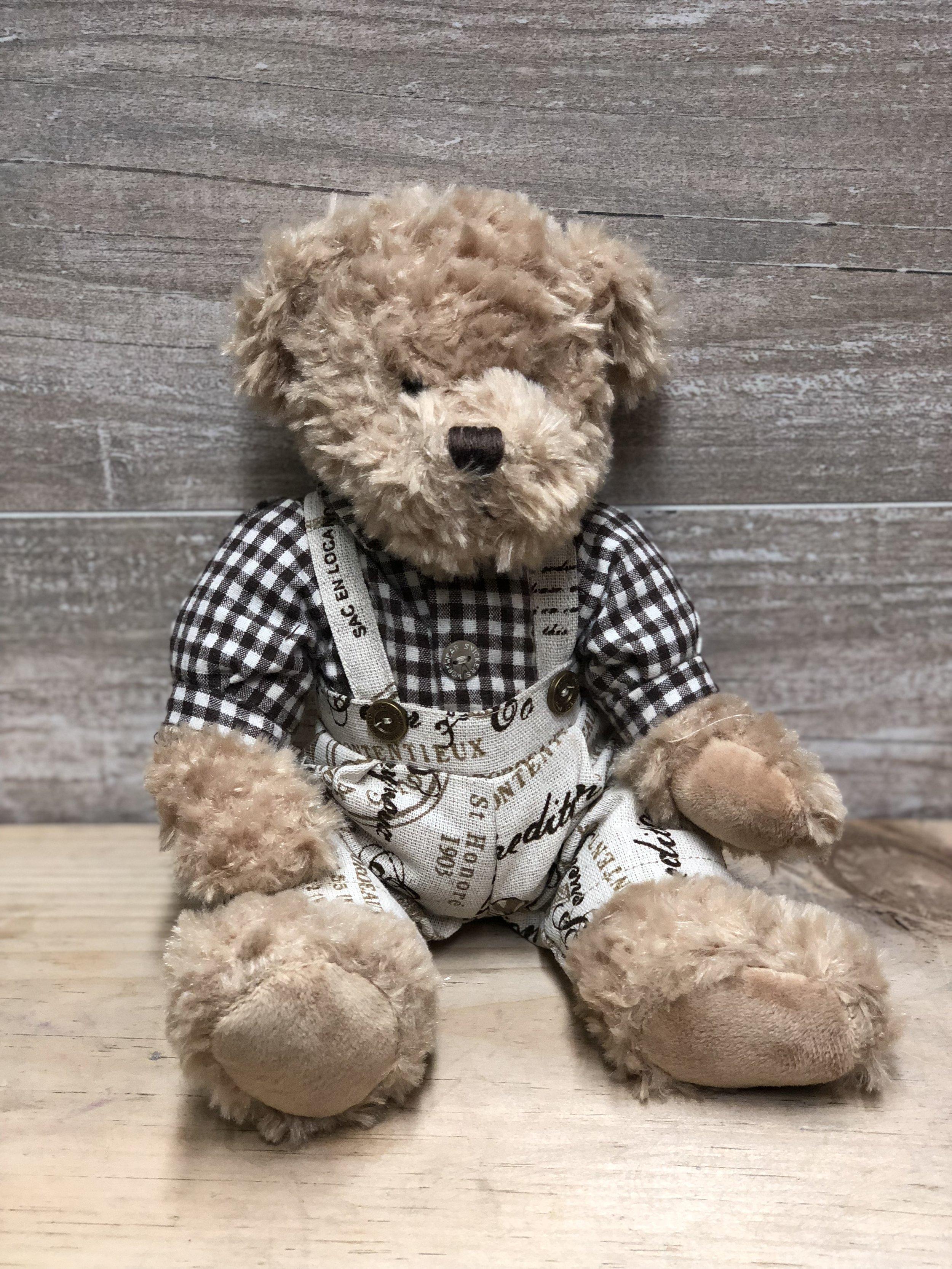 Overalls Vintage Teddy Bear -