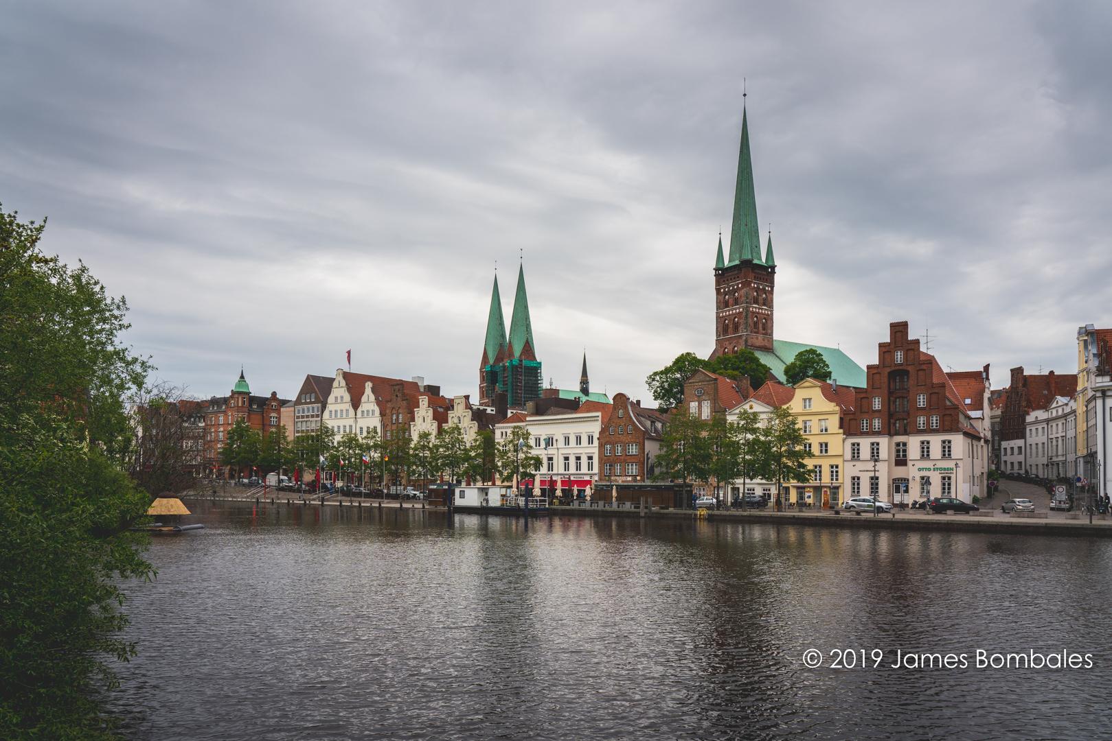 Lübeck skyline