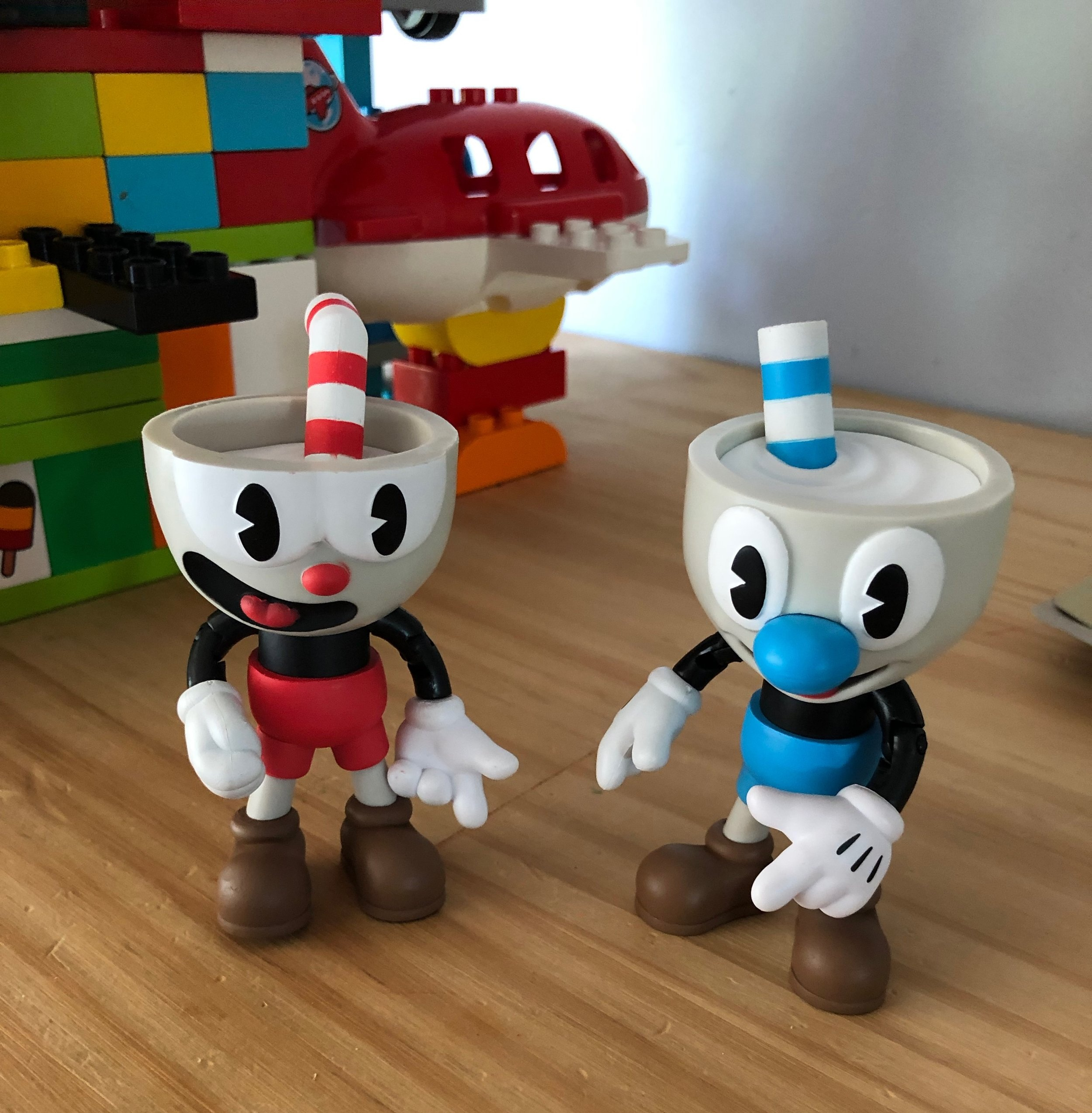 This is Cuphead and Mugman. So now you know.