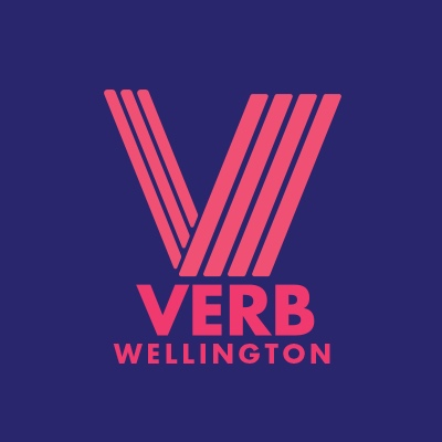 Verb wellington is an annual writers festival, events throughout the year, residencies and collaborations. Design by Minson Design.