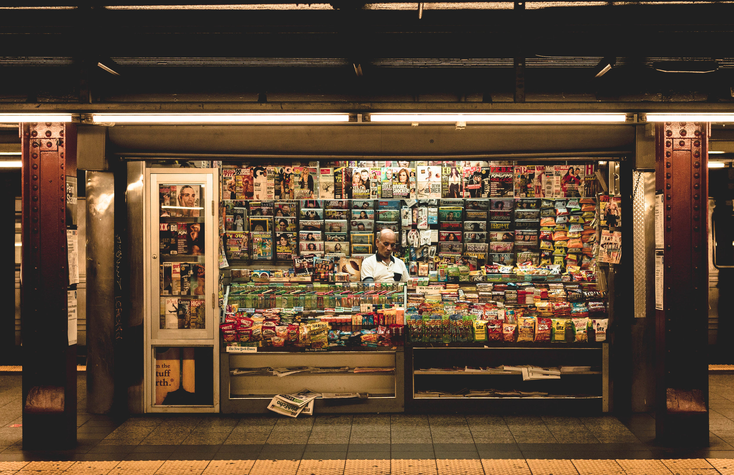 Convienience Store, New York Subway System