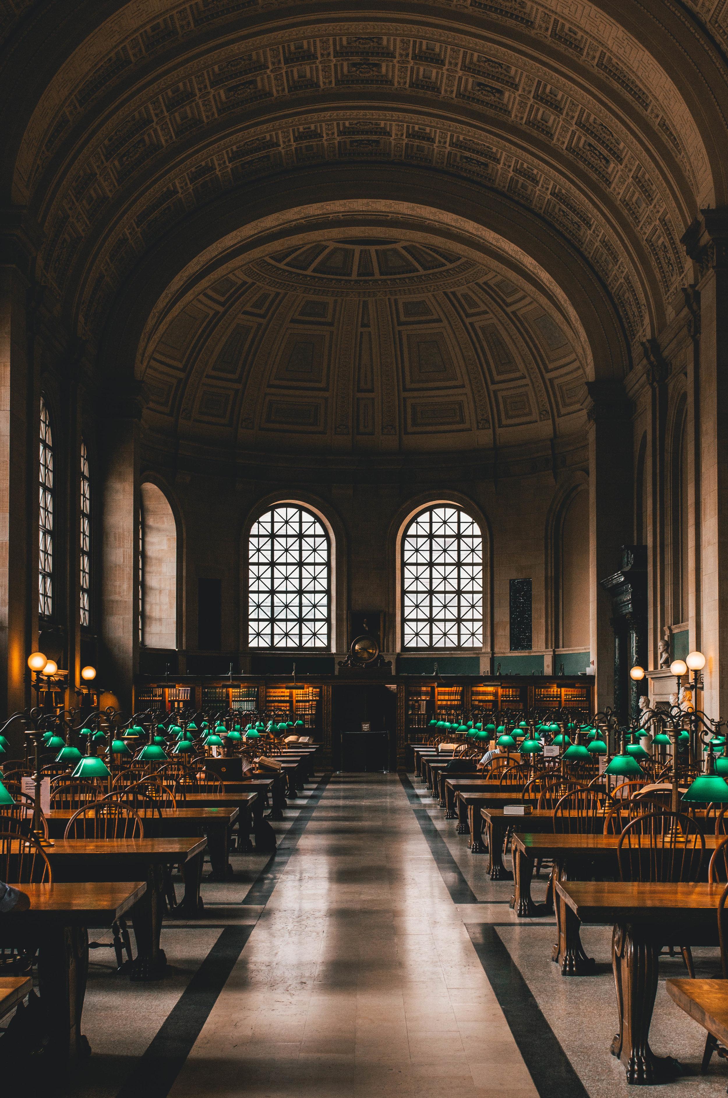 Boston Public Library, Boston