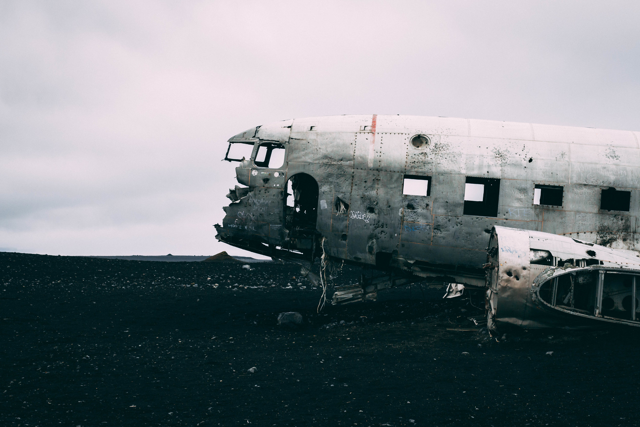 Sólheimasandur Plane Crash, Southern Iceland.