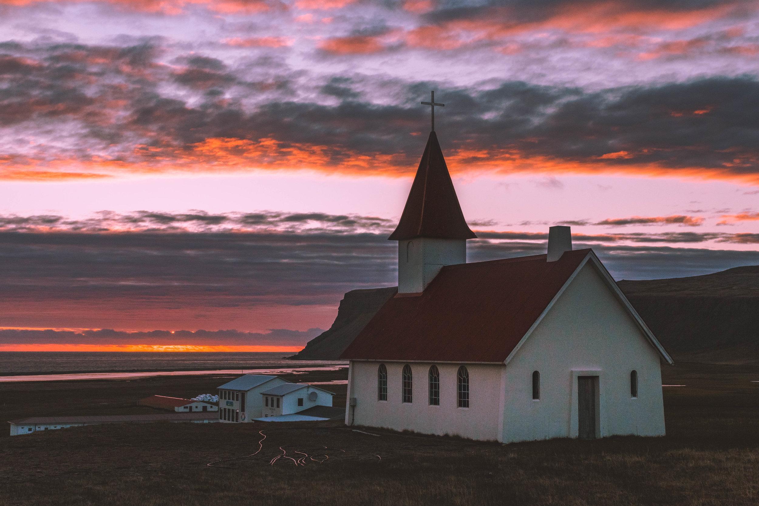 Reyniskirkja Church, Vik.