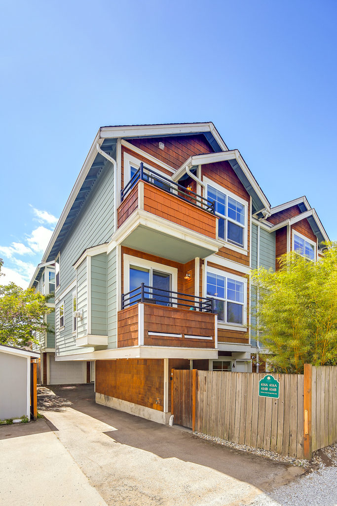 Listing: 616 NW 85th St #A, Seattle | List Price: $625,000 | Sold Price:  $625,000