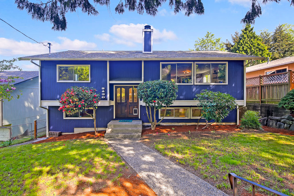 Listing: 5430 30th Ave SW, Seattle | List Price: $638,000 | Sold Price: $700,000
