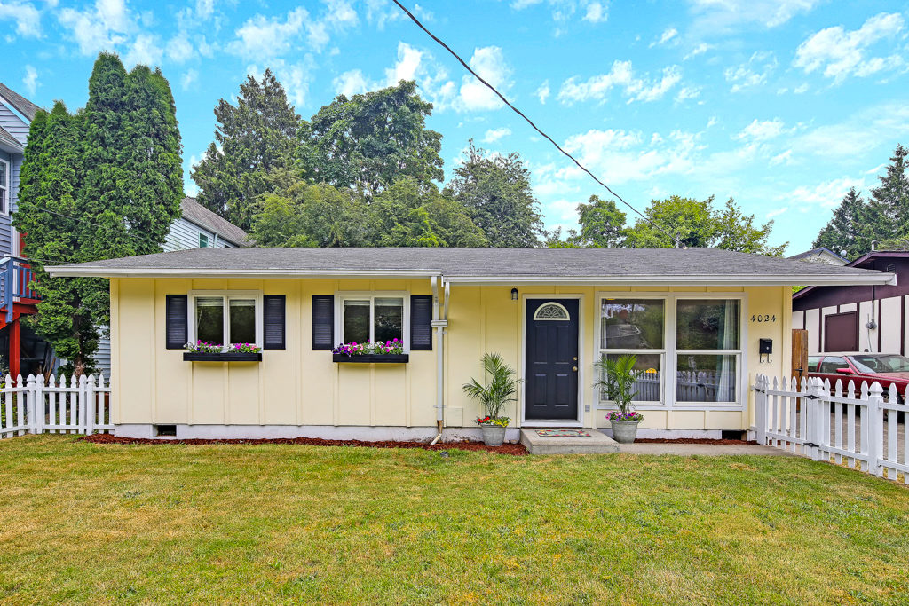 Listing: 4024 21st Ave SW, Seattle | List Price: $450,000 | Sold Price: $448,000